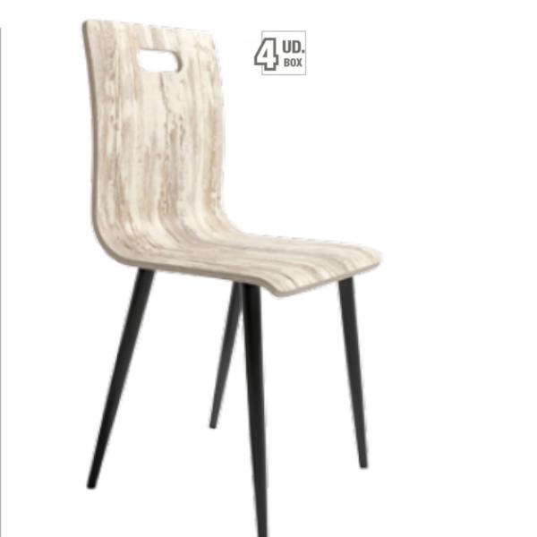 silla sofía acabado vintage de Muebles Azor