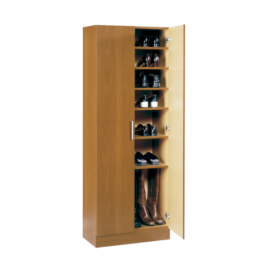armario zapatero cerezo con estantes interiores