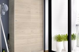 Armario SLIDE plus natural 2 puertas correderas 100 cms ancho DEKIT del Grupo Rimobel