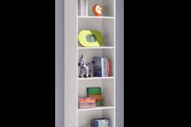 Estanteria blanco artik modelo I-Joy con estantes fijos
