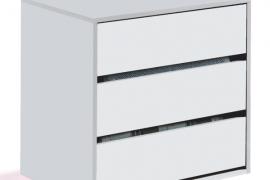 Cajonera interior armario para armarios del Grupo Fores Diseño