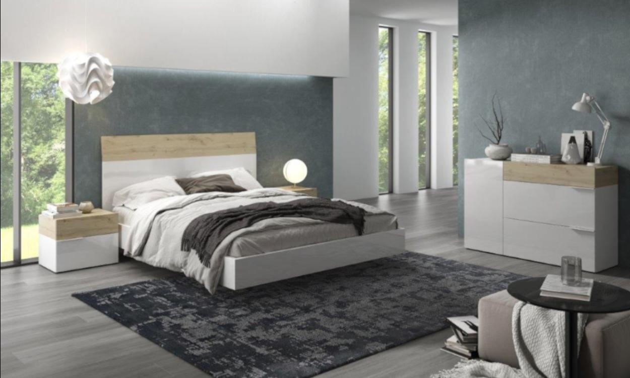Dormitorio Aura con comoda de Muebles Ramis