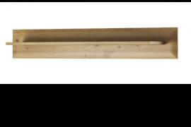 Estande de pared Natural wood, acabado Artisan