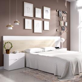 Dormitorio Alice blanco natural.- programa DEKIT del Grupo Rimobel