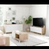 Ambiente URBAN PLUS acabado Roble canadian combinado blanco artik de Muebles Fores