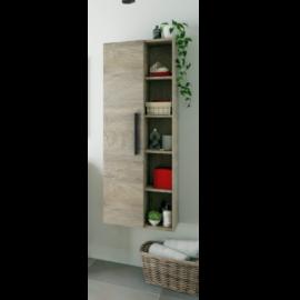 Columna de baño Atenea para colgar acabado Roble Alaska de Fores Diseño